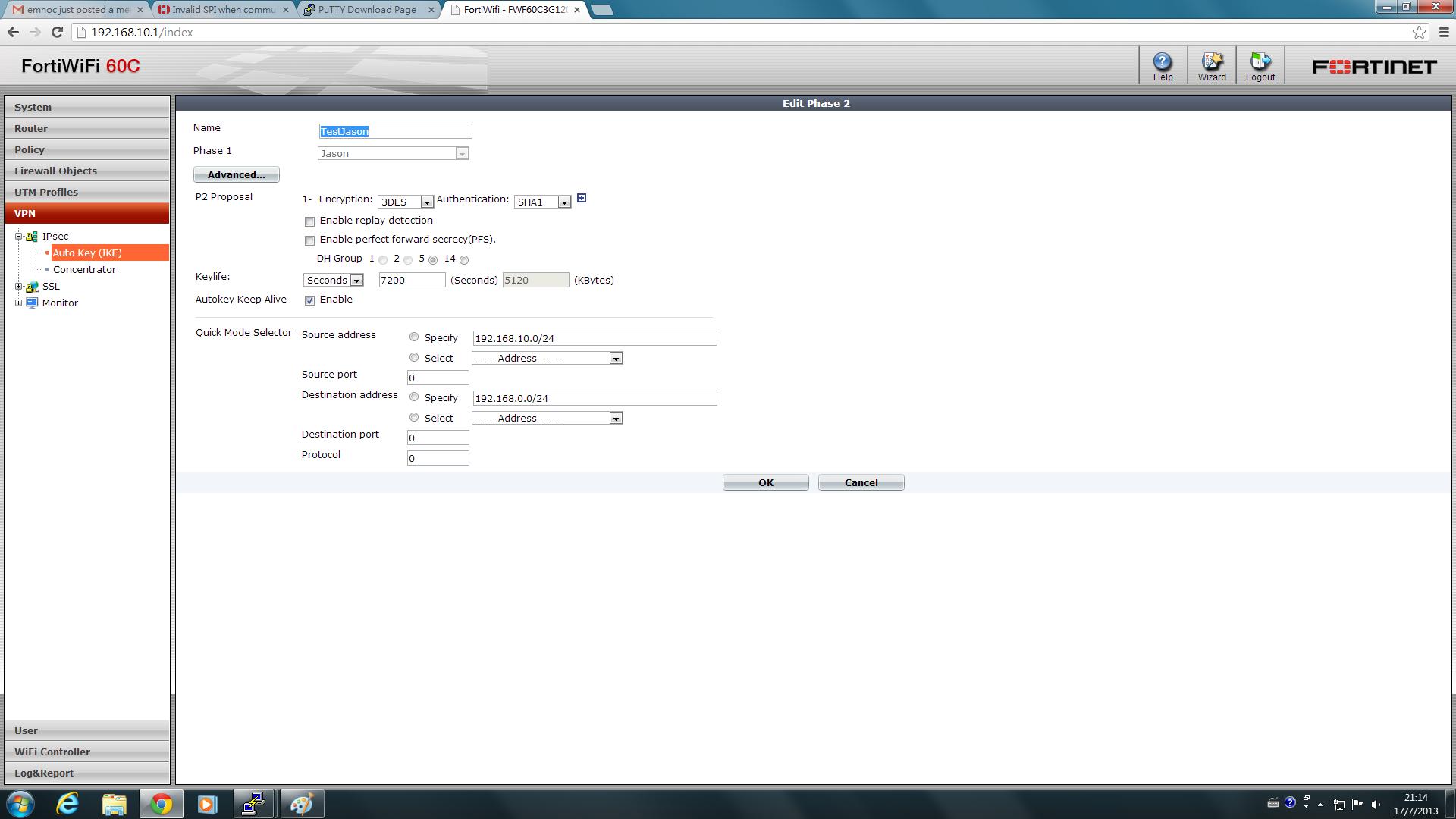 ignoring informational payload type no_proposal_chosen